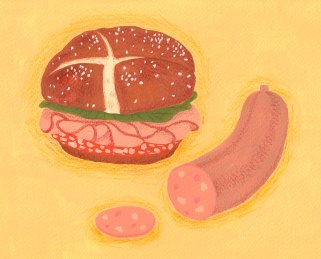 Momoko-Abe_Emil-and-The-Detectives_Sausage