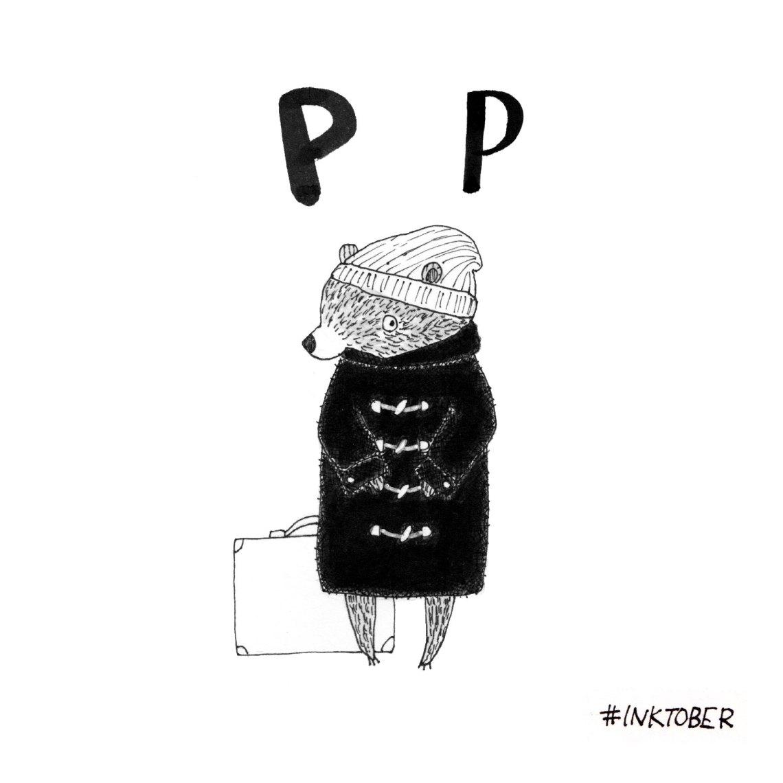inktober_2016_paddington-bear