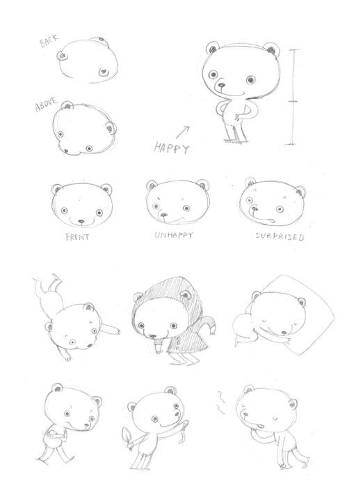 Momoko-Abe_Sketch_Little-Bear