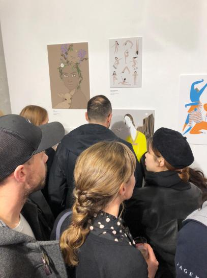 AOI Come Together Exhibition at Printspace Private View (5)